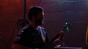 Macrocosm. Guitarist spots an old Luis Suarez kit.